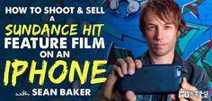 How can a filmmaker make a Sundance winning feature film 'Tangerine' on an iPhone? Well director Sean Baker did just that. He shares his secret filmmaking..