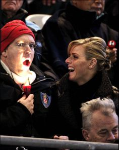 Posted on February 10, 2014 by HatQueen......The Royal Hats Blog....On February 10, 2006, Prince Albert of Monaco attended the opening ceremony of the Winter Olympics in Torino, Italy. Five years later he married South African swimmer Charlene Wittstock.