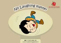 No Laughing matter !! As easy as #laughing seems, it is actually a very complex task that requires activity in five different areas of the #brain. The physiological study of laughter has its own name – Gelotology. Researchers have learned that the production of laughter is involved with various regions of the brain. While the relationship between laughter and the brain is not fully understood, researchers are making some progress. Keep coming back for more #interesting facts.