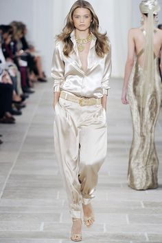 Ralph Lauren Spring 2009 Ready-to-Wear Fashion Show - Abbey Lee Kershaw