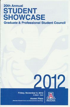 20th Annual Student Showcase Program (2012)