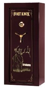 Fort Knox, a leading gun safe manufacturer and longtime RMEF supporter, offers a special RMEF edition gun safe.  Any safe that Fort Knox produces, can be fitted with a RMEF edition graphic.  A portion of the proceeds of any safe with the graphics will be donated to RMEF to help conserve elk and elk country.
