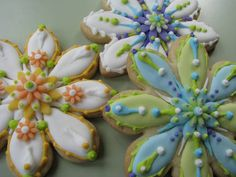 Beautiful Spring Cookies