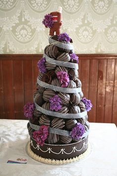 Gourmet Cream Puff Cake for your Wedding!