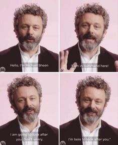 😅😅😅I imagine this as my personal good place arrival speech Uk Actors, British Actors, Fluffy Biscuits, Tom Payne, Good Omens Book, Angel Aesthetic, Prodigal Son, Michael Sheen, Good Buddy