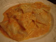 Crab Ravioli in Tomato Cream Sauce One of the best things I have ever made!   masslive.com