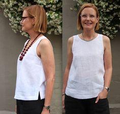 Kate Top Pattern - Patterns - Tessuti Fabrics - Online Fabric Store - Cotton, Linen, Silk, Bridal & more