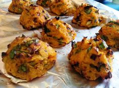 Sweet Potato and Spinach Balls