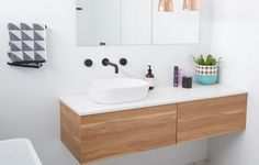 Bought this vanity yesterday and two basins. A great affordable vanity option from Highgrove bathrooms