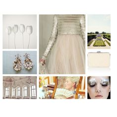 """""""white pearls"""" by being-antoinette on Polyvore"""