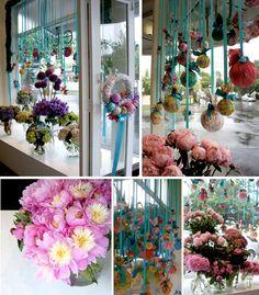Fleur McHarg Christmas window 2010