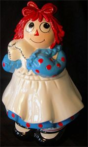 We will have cookies from our favorite cookie jar, Raggedy Ann
