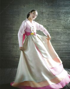 Hanbok, the traditional Korean dress: By combining traditional dress with modern fashion, a series of fusion hanbok designs were introduced. Designs and patterns of hanbok have even been applied to architecture.