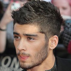 Male Celebrity Hairstyles - Zayn Malik Haircut