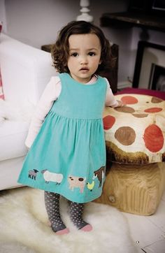 Mini Boden Dress & Tee (Baby Girls)  available at #Nordstrom