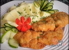 No Salt Recipes, Cooking Recipes, Healthy Recipes, Czech Recipes, Hungarian Recipes, Meat Chickens, Poultry, Food And Drink, Appetizers