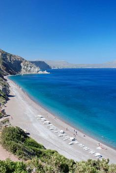 Kythira island in Greece