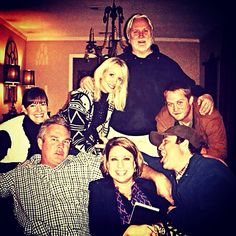 Having fun...The Sikes Family