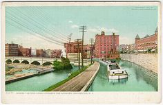 Erie Canal Images - Rochester Postcards
