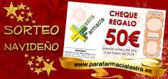 ¡Sorteo Navideño! Consigue 50€ de regalo para gastarlo en nuestra farmacia o página web