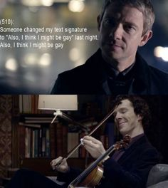 Texts from Baker Street. I just thought it was funny...John doesn't seem like he would figure out how to change it right away, and I think Bored Sherlock might do something like that to mess with John.