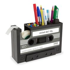 Rewind Desk Tidy Dark Gray
