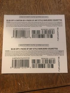 Marlboro cigarette coupons (#183576543873) - Gift Cards & Coupons > Coupons for $2.50 Cigarette Coupons Free Printable, Printable Coupons, All Coupons, Free Coupons, Marlboro Coupons, Manufacturer Coupons, Newport Cigarettes, Marlboro Cigarette, Pall Mall