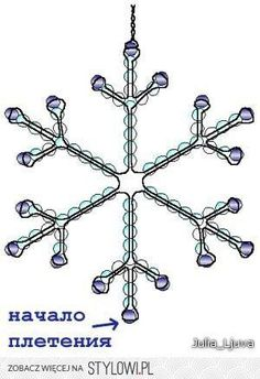 template for pony bead snowflakes Wire Ornaments, Beaded Christmas Ornaments, Christmas Snowflakes, Christmas Diy, Snowflake Ornaments, Homemade Christmas, Beaded Crafts, Wire Crafts, Christmas Crafts