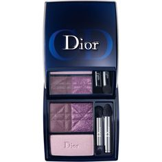 Dior 'Purple Revolution' Eyeshadow Palette (143.400 COP) ❤ liked on Polyvore featuring beauty products, makeup, eye makeup, eyeshadow, beauty, cosmetics, christian dior eyeshadow, christian dior, christian dior eye shadow and palette eyeshadow