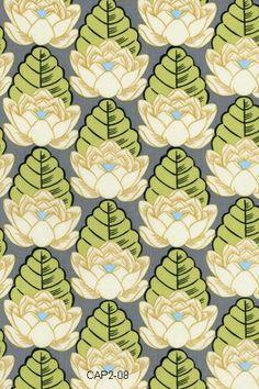 Lotus - Ivory Lotus Pond - Amy Butler