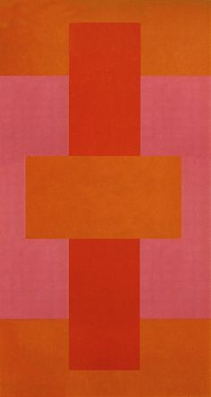 Ad Reinhardt: Red Abstract, 1952.
