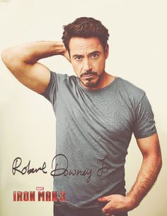 with RDJ.   Am i counting the days til May 3rd?   why yes, yes i am.