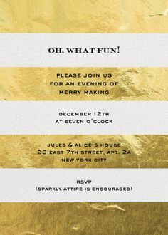 Love to use these environmentally friendly invites for my parties!Paperless Post (kate spade design)