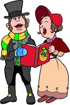 christmas carolers clip art carolers clip art royalty free 190 rh pinterest com animated christmas carolers clipart christmas caroling clipart