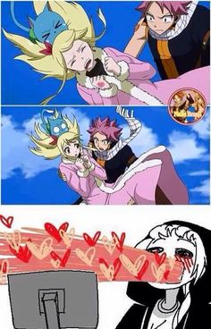 I fangirled at this part too!!! <3 #NaLu