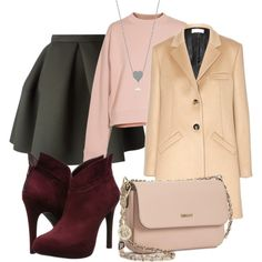 """red-pink"" by explorer-14105186652 on Polyvore"