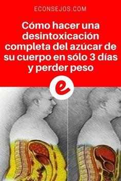 Desintoxicación de azúcar   Cómo hacer una desintoxicación completa del azúcar de su cuerpo en sólo 3 días y perder peso   Esta desintoxicación es muy especial. En sólo 3 días, usted eliminará todo el azúcar blanco presente en su cuerpo, regular el índice de glucosa y adelgazar. Aprenda cómo hacerlo aquí ↓ ↓ ↓