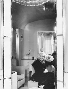 Marion Davies Relaxes In Her Boudoir