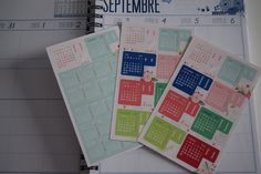 Planner supplies by Toga Hearts & Wings by Shireece: DIY customisation de mon agenda
