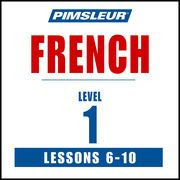 French Level 1 Lessons 6-10: Learn to Speak and Understand French with Pimsleur Language Programs   http://paperloveanddreams.com/audiobook/362499994/french-level-1-lessons-6-10-learn-to-speak-and-understand-french-with-pimsleur-language-programs  