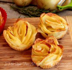 Rose di patate con pasta sfoglia video ricetta