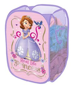 The Disney Sofia the First Pop Up Hamper makes a perfect addition to your child's bedroom, closet, or playroom. The pop up hamper is an easy way to mainta Sofia The First Room, Real Life Princesses, Kids Pop, Toy Bins, Kids Storage, Storage Racks, Easy Storage, Laundry Hamper, Big Girl Rooms