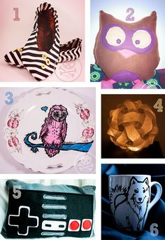 Geschenk Tipps #gift #ideas #diy #craft #home #dish #cozy #owl #lamp #shoes #christmas #presents #pillow #geek #nerd #game