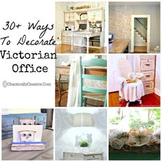 A Vintage Office - Chaotically Creative