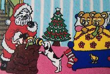 Webster Craft Large punch needle A3 size Teddies Christmas Eve kit