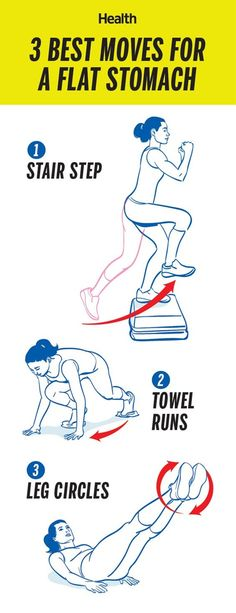 3 Best Moves For A Flat Stomache