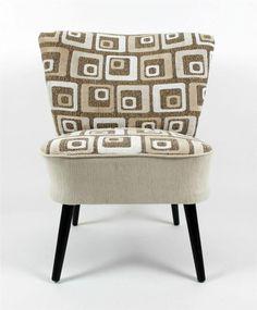 MID-CENTURY Modern Vintage Retro  MIDI CLUB COCKTAIL Chair 1950s  REFRESHED