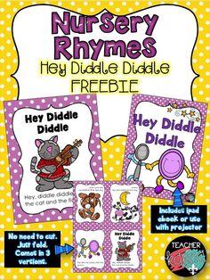 FREE Nursery Rhyme Readers by Teacher KARMA - Classroom Freebies