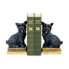 Sterling Home Baron Scottie Dog Bookends - BedBathandBeyond.com