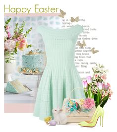 """""""Happy Easter"""" by savvy-maven ❤ liked on Polyvore featuring Alexander McQueen, Delpozo, Easter, pastels, eastersunday, HappyEaster and prettypastels"""